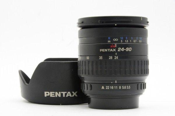 ■ PENTAX ペンタックス smc PENTAX-FA 24-90mm F3.5-4.5 IF AL フルサイズ対応 便利な標準ズームレンズ 送料無料