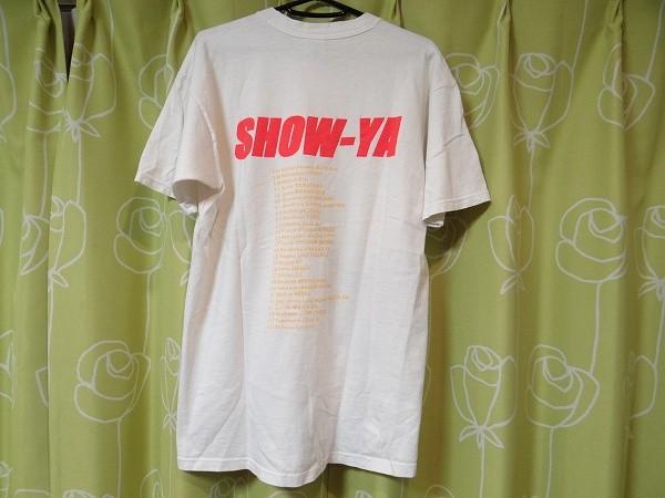 希少 ビンテージ USA製 SHOW-YA 寺田恵子 Tシャツ Lサイズ