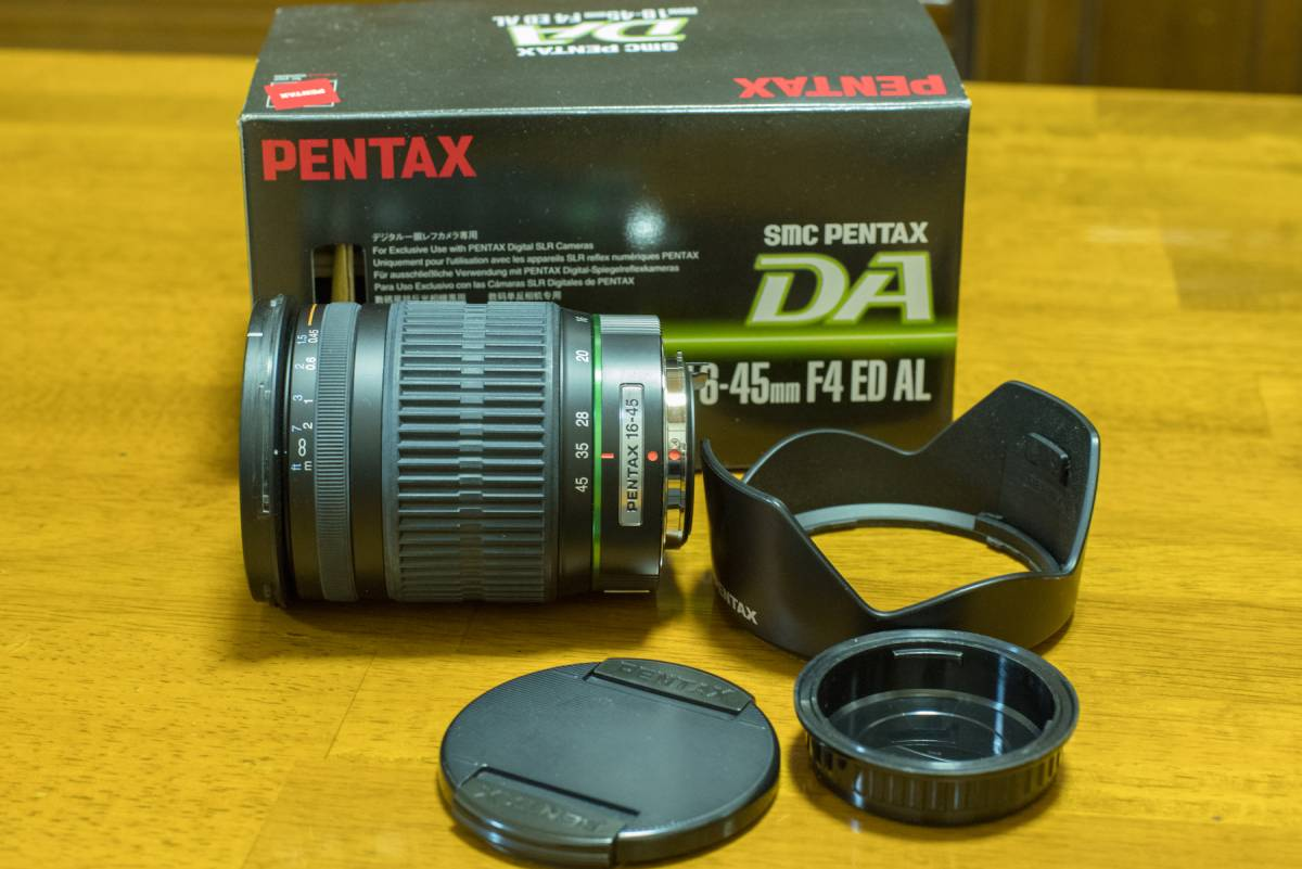 極上美品 ペンタックスズームレンズ smc PENTAX DA 16-45mm F4 ED AL
