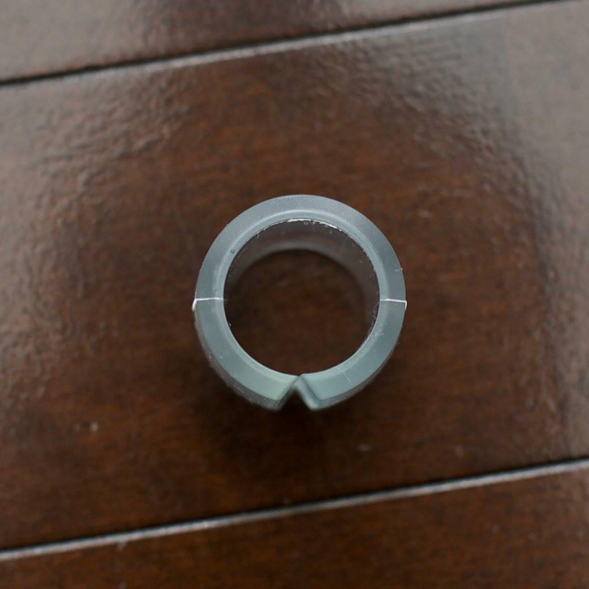 【新品】フレームプロテクター 透明 クロモリ トップチューブ ダウンチューブ 25.4mm 28.6mm 31.8mm用 (検)njsフレーム ピスト_画像3