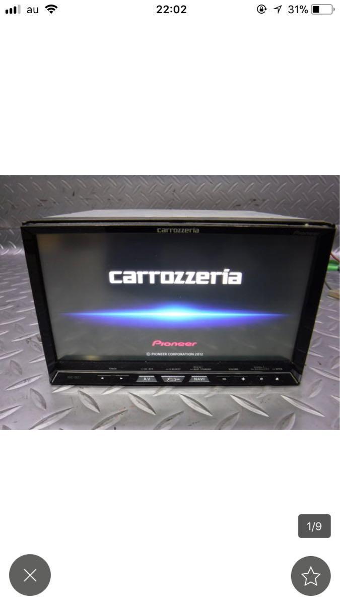 【1円すたーと】美品 carrozzeria AVIC-ZH77 完動品 地上デジタルTV/DVD/CD/Bluetooth/USB/SD/ HDDナビ サイバーナビ パイオニア_画像5