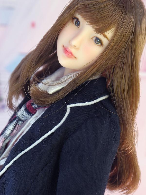 【LUCKY STAR】 1/6カスタムドールヘッド「 真奈美 まなみ 」_画像2