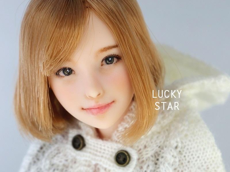 【LUCKY STAR】 1/6カスタムドールヘッド「 爽良 さら 」