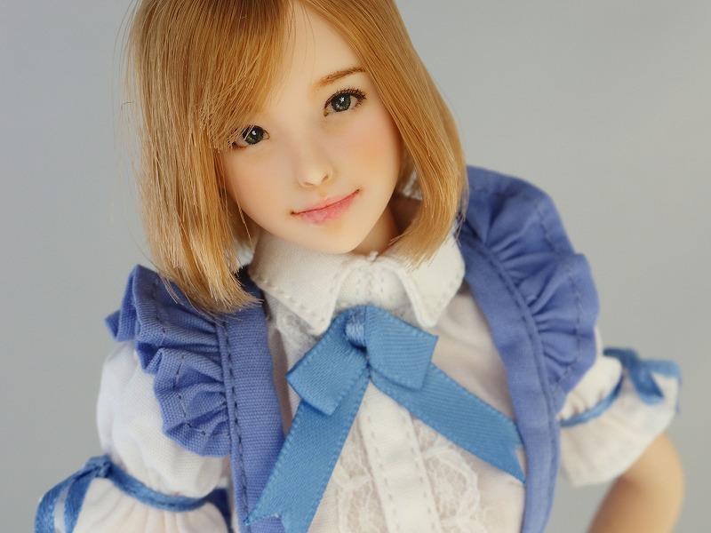 【LUCKY STAR】 1/6カスタムドールヘッド「 爽良 さら 」_画像3