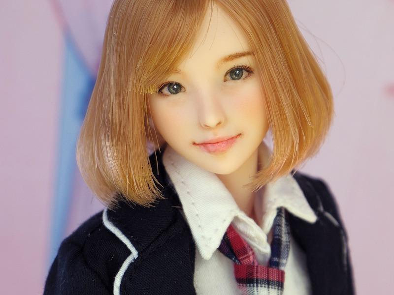 【LUCKY STAR】 1/6カスタムドールヘッド「 爽良 さら 」_画像2