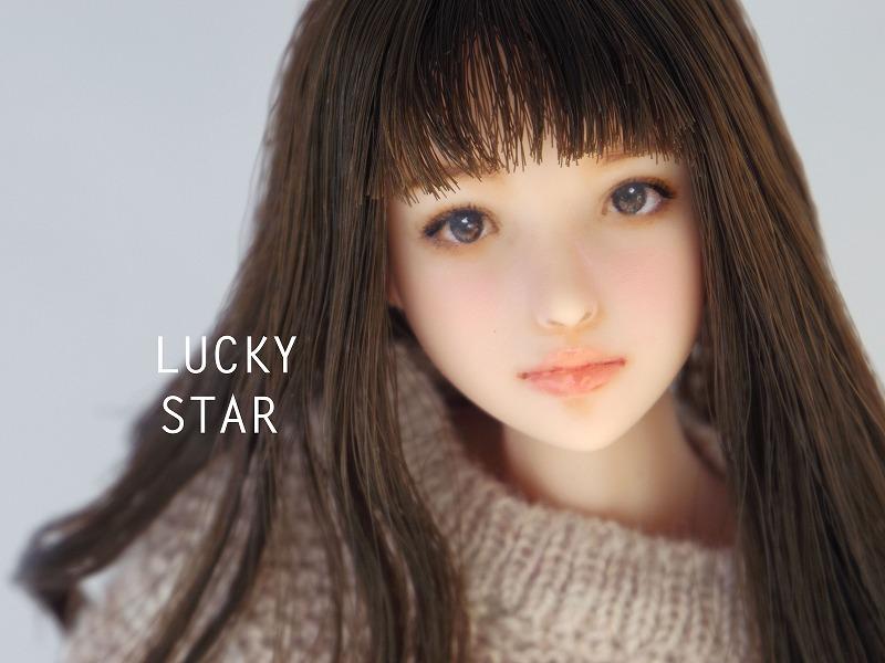 【LUCKY STAR】 1/6カスタムドールヘッド「 瑞穂 みずほ 」