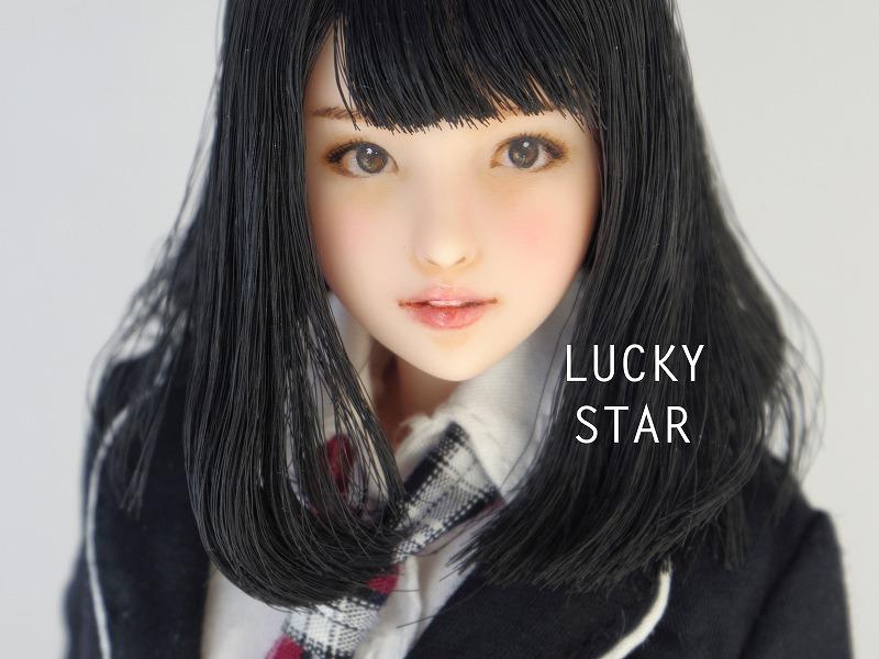 【LUCKY STAR】 1/6カスタムドールヘッド「 菜緒 なお 」