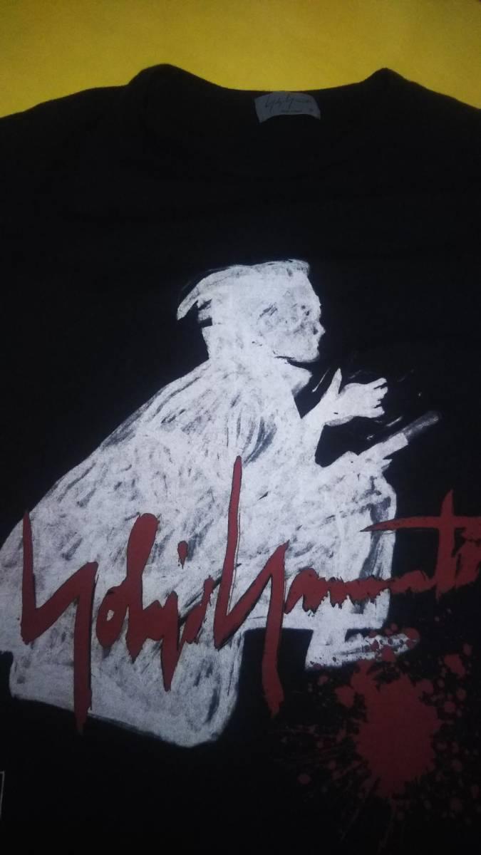 ヨウジヤマモト yohjiyamamotopourhomme 17aw侍Tシャツ