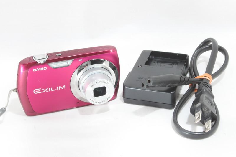 【レア】 カシオ CASIO EXILIM デジタルカメラ EX-Z370 ピンク