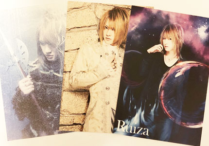 D(ディー)★KINGDOM ソロ衣装 Ruiza Postcard★Tsunehito HIROKI ASAGI HIDE-ZOU
