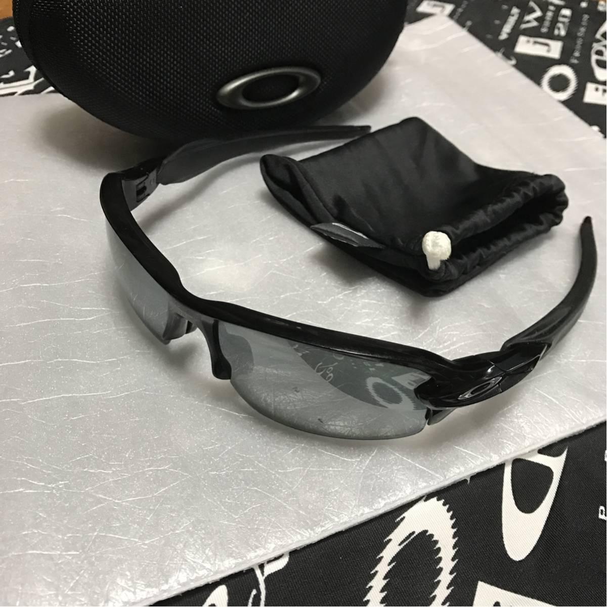 1円〜 オークリー 偏光 サングラス POLARIZED レンズ フラック2.0 スポーツ 釣り ゴルフ 野球 レーダー ロック EV フラックジャケット 偏向