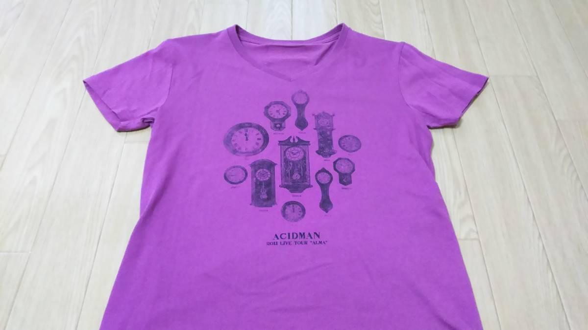 【美品】 ACIDMAN ツアーTシャツ XS 2011年 紫