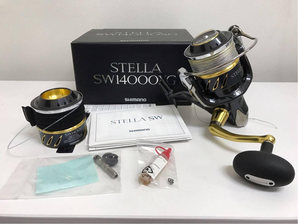 ☆ SHIMANO ステラ STELLA SW1400XG リール 中古 美品 ~売り切り 1円スタート~