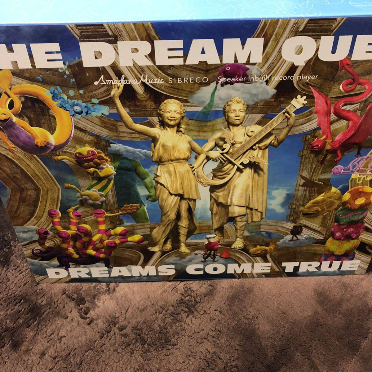 限定商品 DREAMS COME TRUE レコードプレーヤー