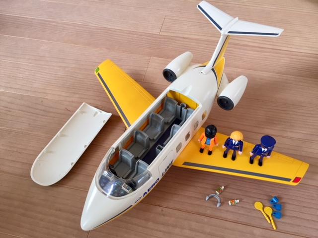 2005年プレイモービルplaymobilエアポートジェット機 飛行機3185
