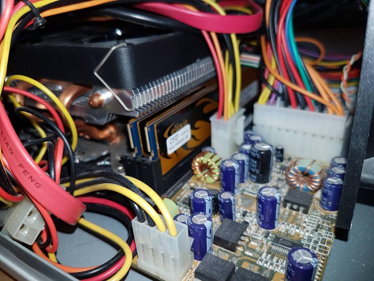 自作PC CPU Core i7 3770S メモリ16G ACアダプター駆動_画像4