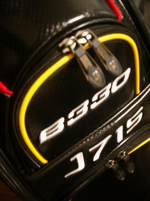 未使用 BS ブリヂストン アスリート系 レプリカ 合皮レザー 黒赤黄白 3点式バッグ_画像7