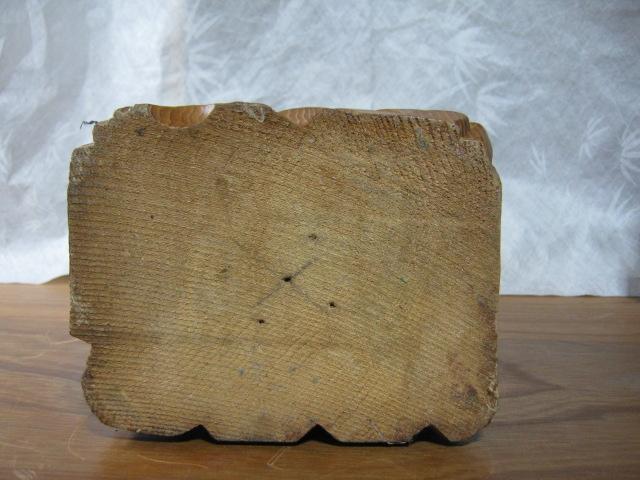 【大サイズ 木彫り 置物 七福神 布袋尊 高さ35cm】antique_画像5