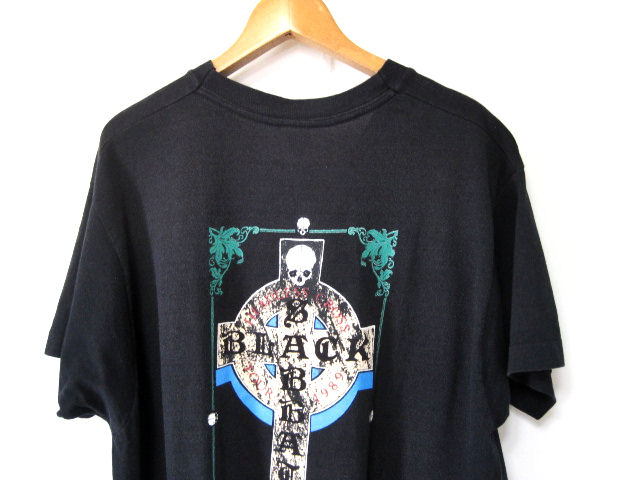 XLサイズ 激レア!! 80s ビンテージ【BLACK SABBATH】89年 ツアー バンドTシャツ ブラックサバス メタル Tシャツ