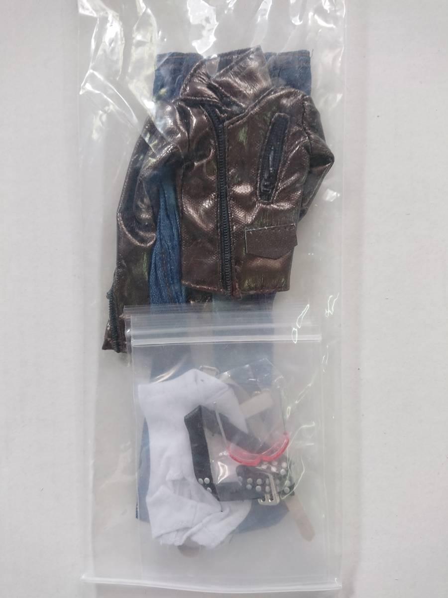 DOLLSFIGURE ドールズフィギュア CC136 1/6 バイカー衣装セット(カード欠品)