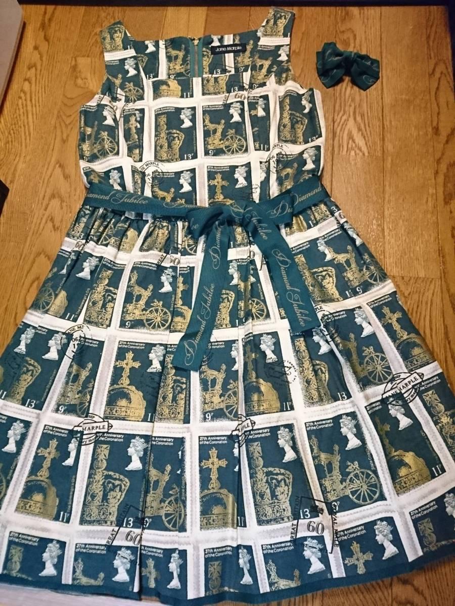 Jane Marple◆Royal stampのスクエアドレス ワンピース 人気完売レア ジェーンマープル ロリータ_画像1