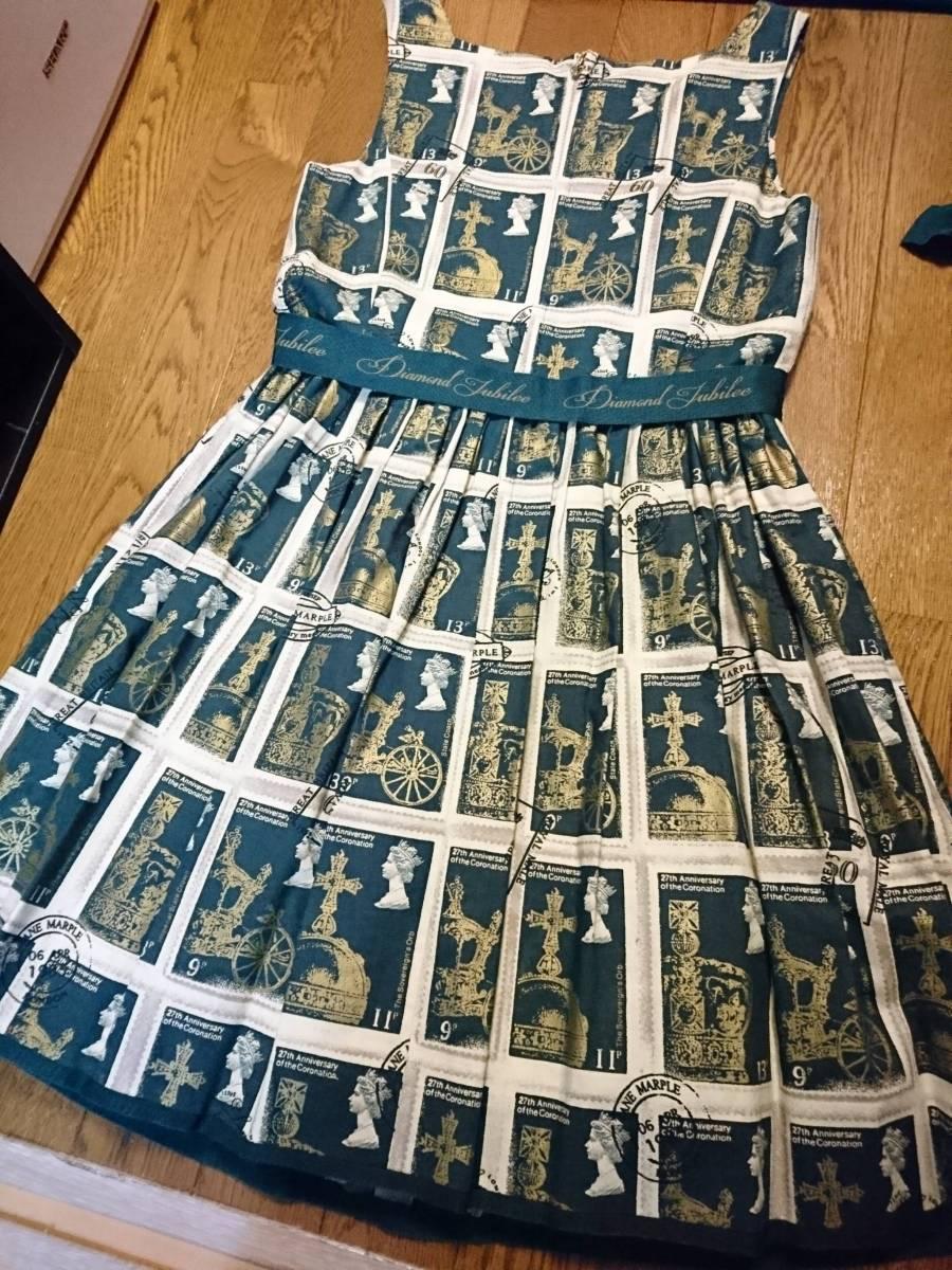 Jane Marple◆Royal stampのスクエアドレス ワンピース 人気完売レア ジェーンマープル ロリータ_画像3