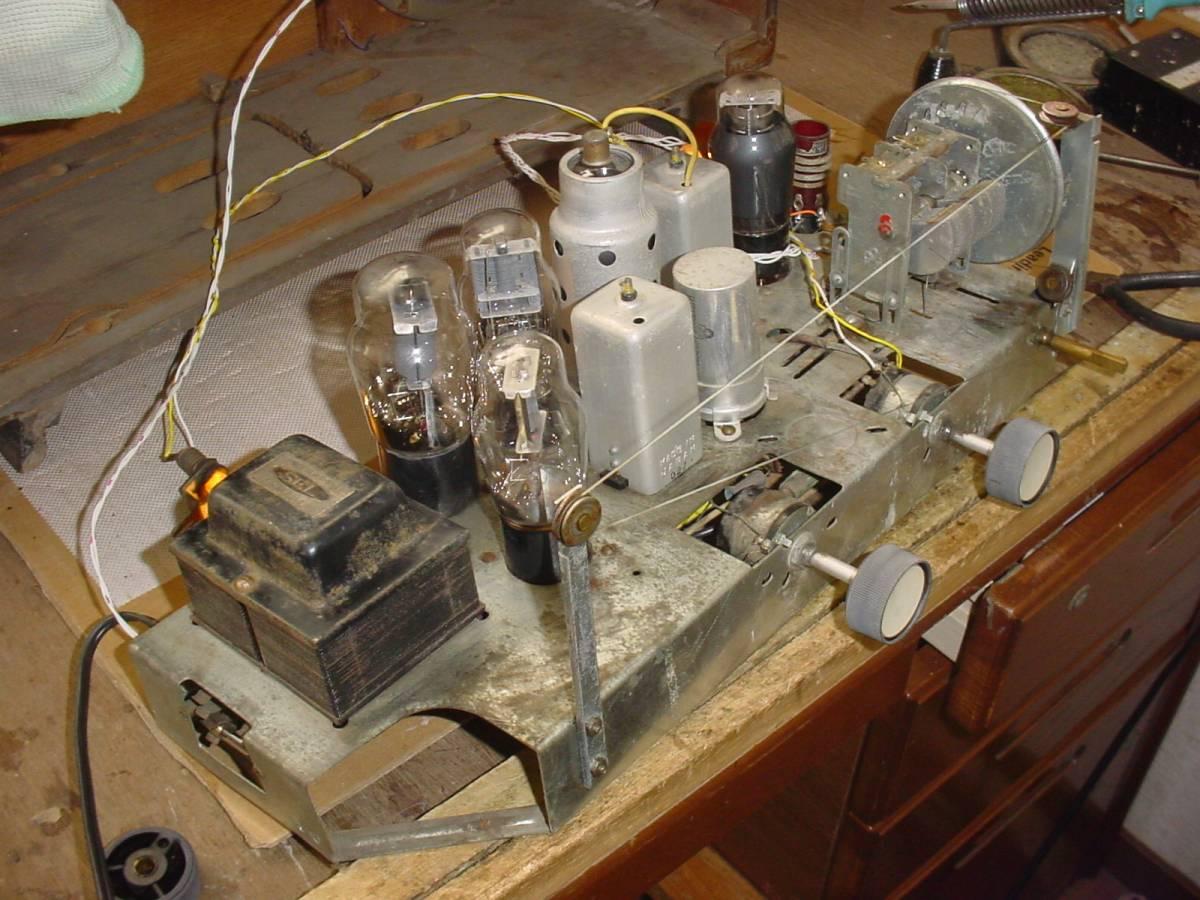 タイヘイ ST管スーパーラジオ GR-15_画像7