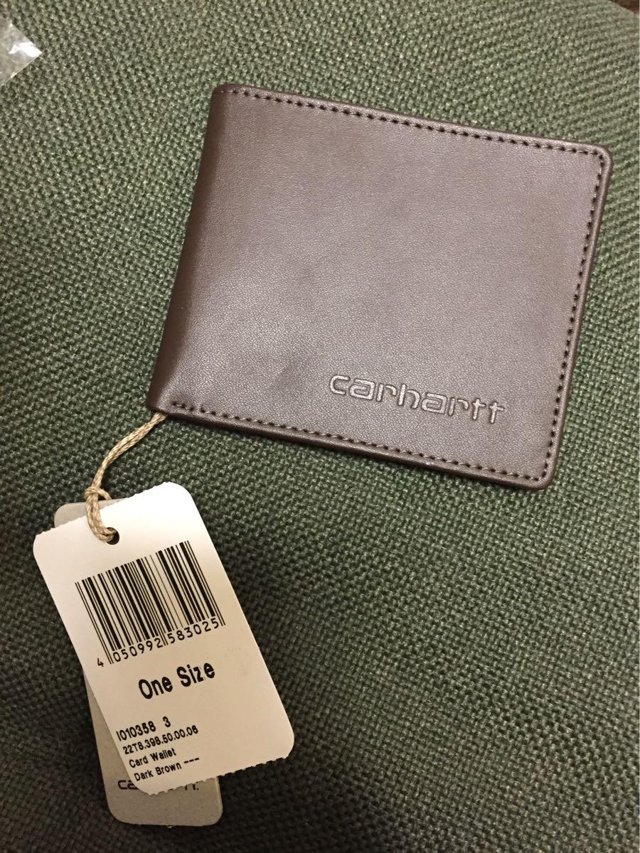カーハート carhartt WIP カードウォレット 財布 新品 凹みあり_画像1