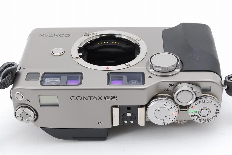 超人気 Contax コンタックス G2 レンジファインダー フィルムカメラ Planar 45mm F2 レンズ TLA140 フラッシュ等 付属品多数_画像5