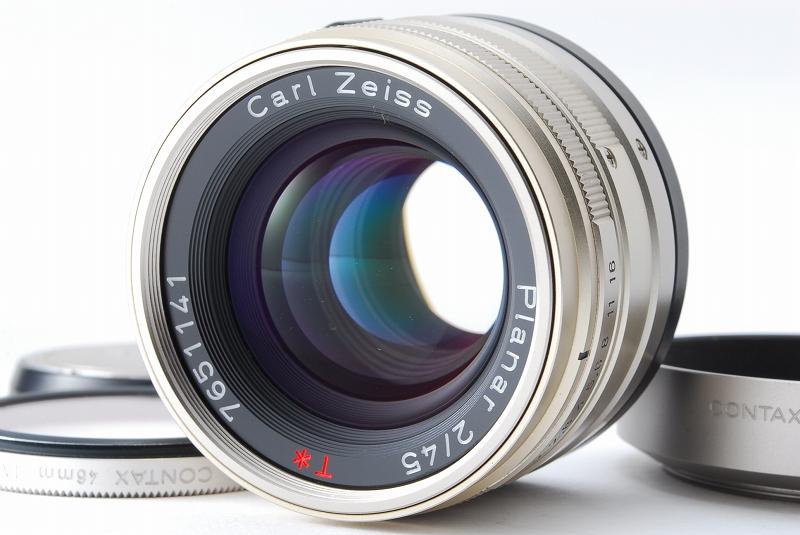 超人気 Contax コンタックス G2 レンジファインダー フィルムカメラ Planar 45mm F2 レンズ TLA140 フラッシュ等 付属品多数_画像9