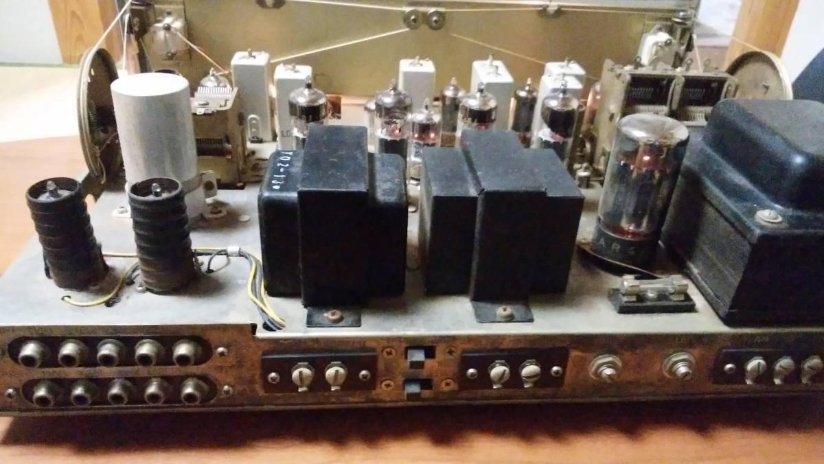 TRIO W-35 AM FM 真空管アンプ ジャンク_画像3