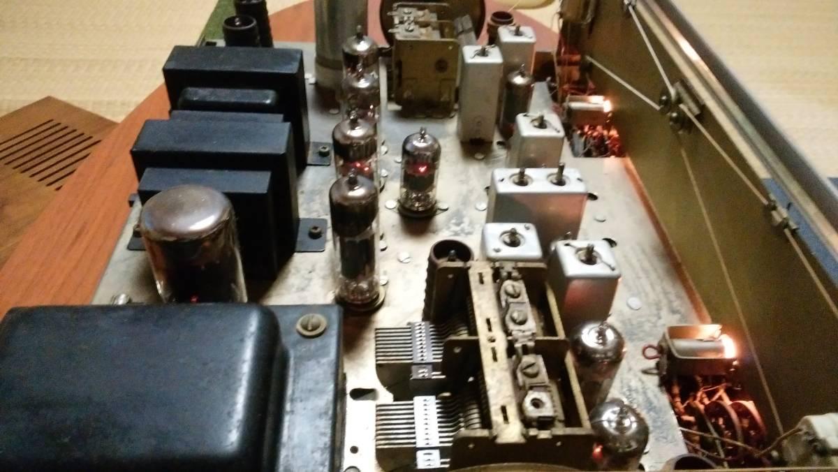 TRIO W-35 AM FM 真空管アンプ ジャンク_画像4