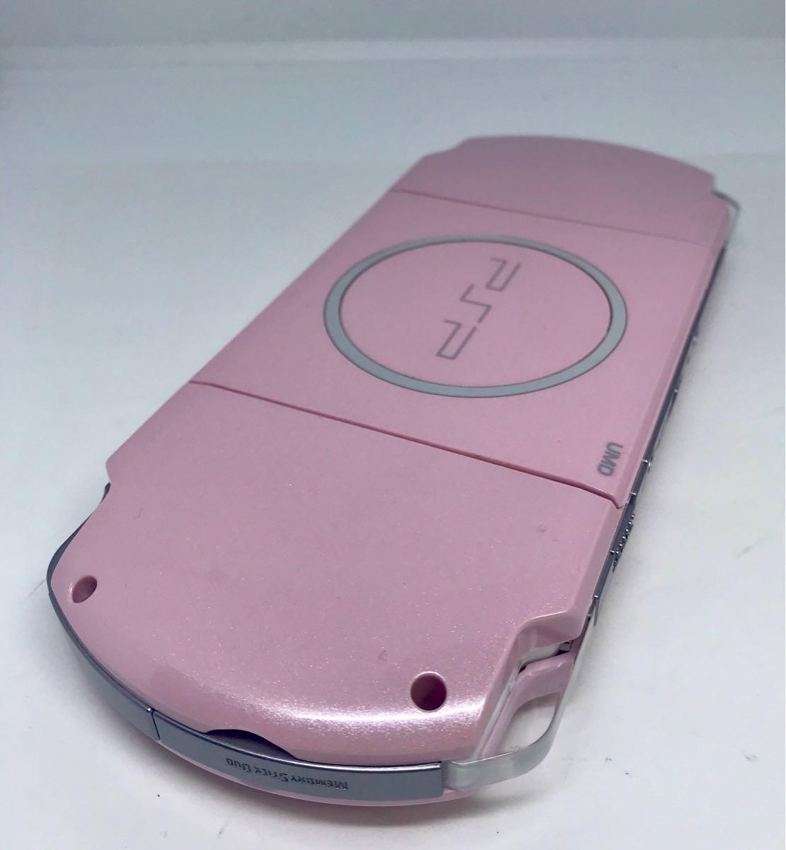 PSP 3000 本体 綺麗な美品!ピンク 動作確認済み品_画像7