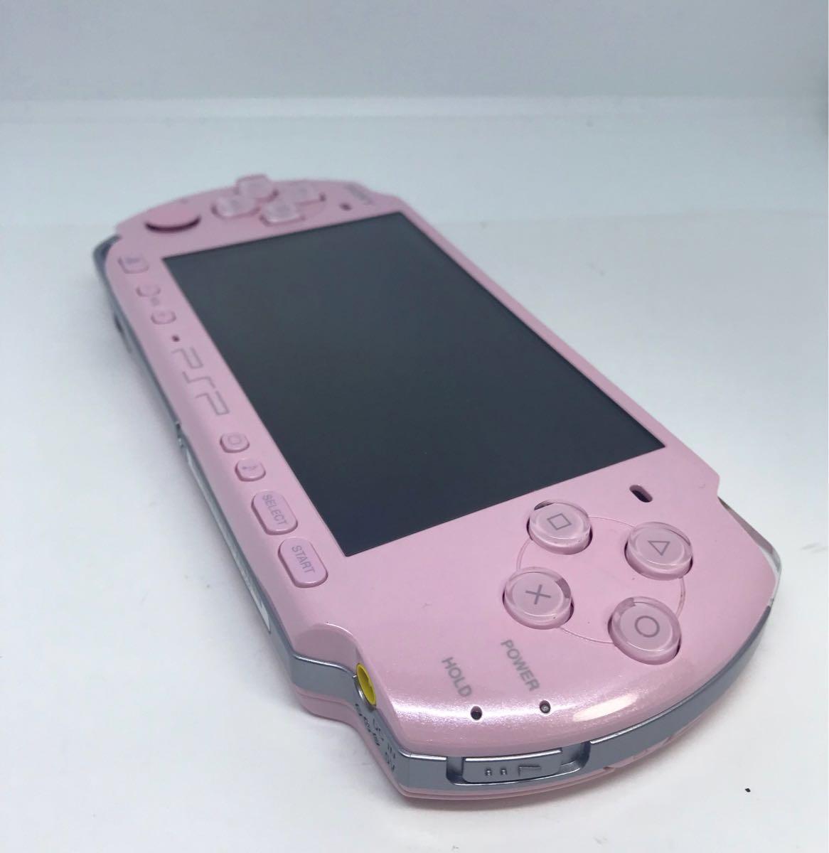 PSP 3000 本体 綺麗な美品!ピンク 動作確認済み品_画像5