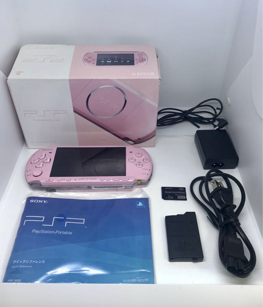 PSP 3000 本体 綺麗な美品!ピンク 動作確認済み品