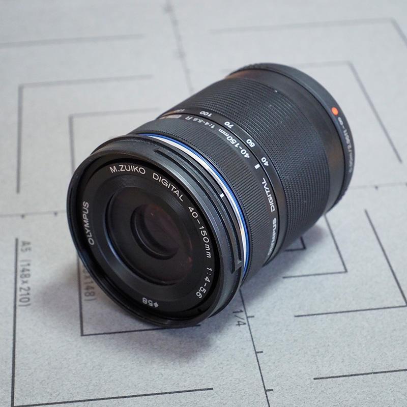オリンパス M.ZUIKO DIGITAL ED 40-150mm F4.0-5.6 R ブラック(中古)