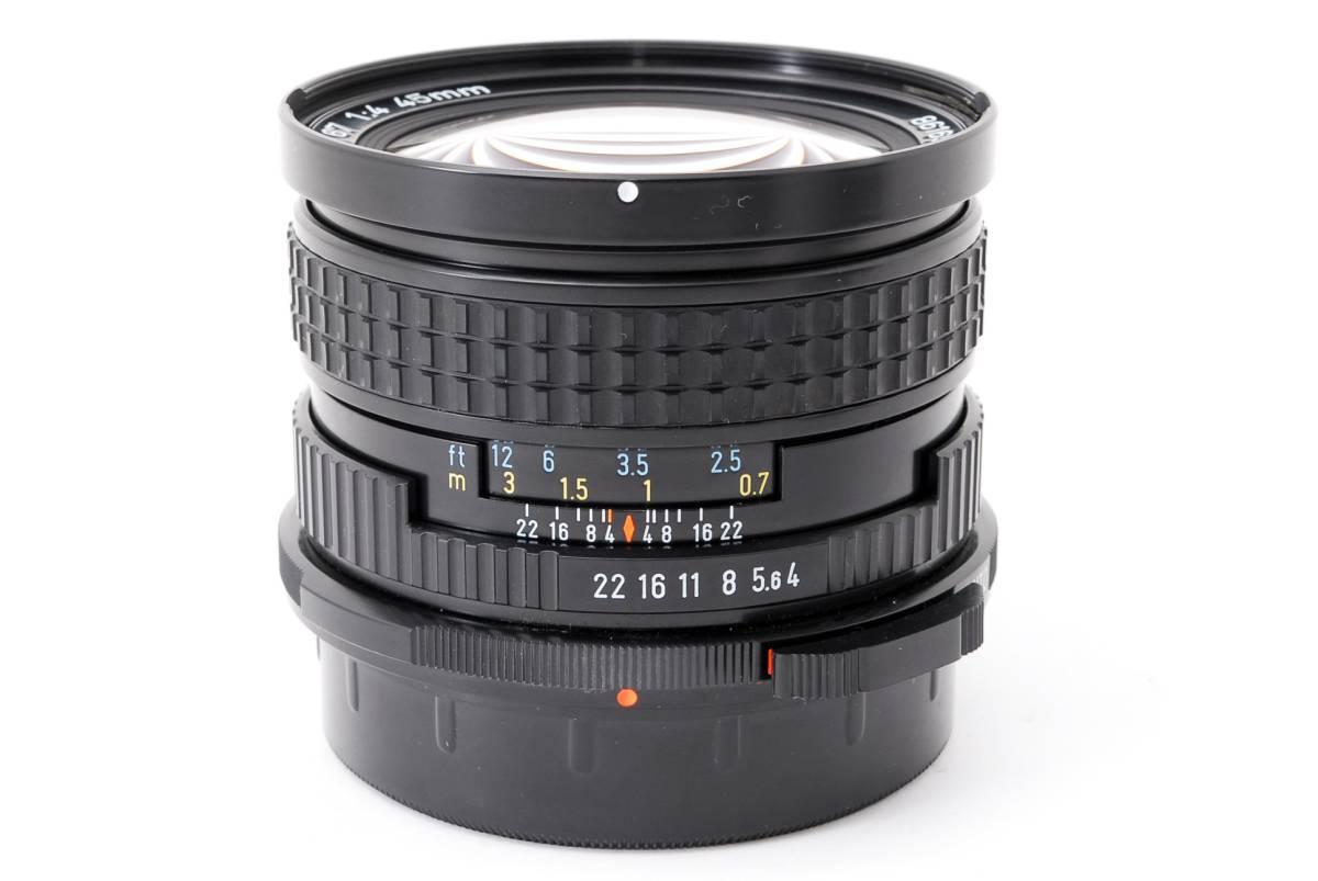 1円スタート!!!!! ペンタックス 67用レンズ Pentax 67 45mm F4 MF Lens マニュアルフォーカスレンズ レンズクリーニング済☆_画像10