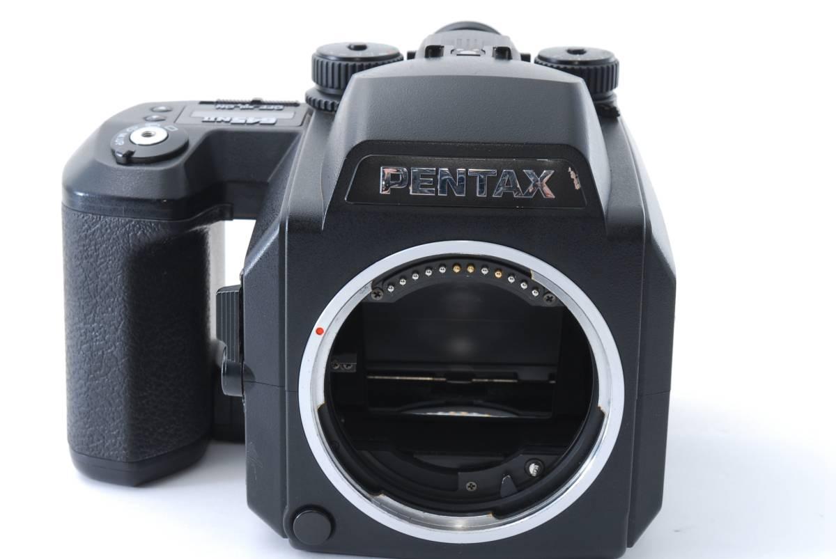 1円スタート!!!!! ペンタックス Pentax 645 Nii Medium Format Camera body ボディ 動作良好、モルト交換済☆_画像2