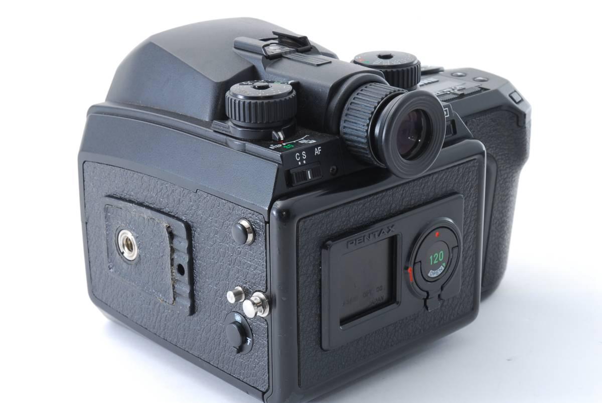 1円スタート!!!!! ペンタックス Pentax 645 Nii Medium Format Camera body ボディ 動作良好、モルト交換済☆_画像6