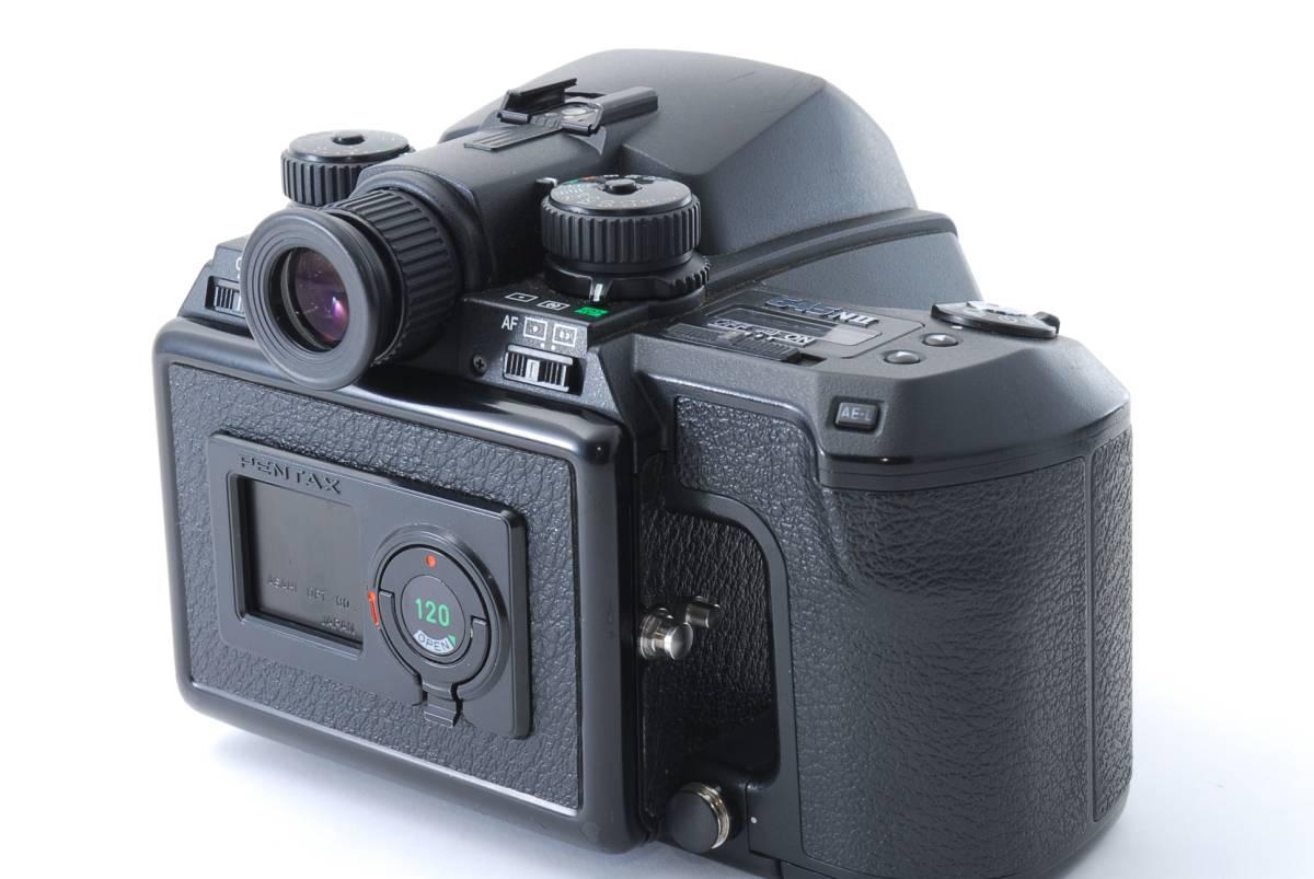 1円スタート!!!!! ペンタックス Pentax 645 Nii Medium Format Camera body ボディ 動作良好、モルト交換済☆_画像4