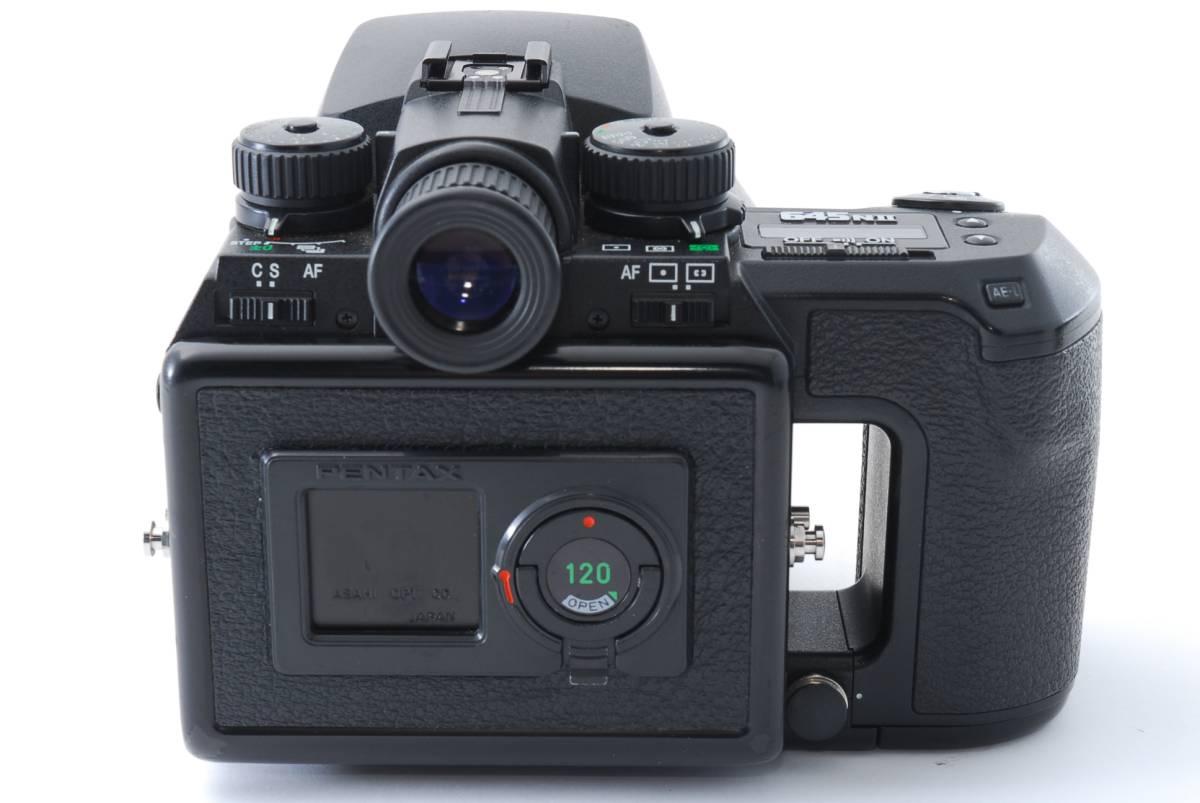 1円スタート!!!!! ペンタックス Pentax 645 Nii Medium Format Camera body ボディ 動作良好、モルト交換済☆_画像5