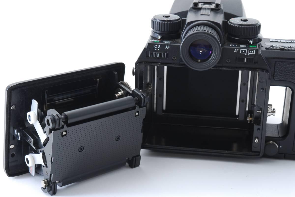1円スタート!!!!! ペンタックス Pentax 645 Nii Medium Format Camera body ボディ 動作良好、モルト交換済☆_画像7