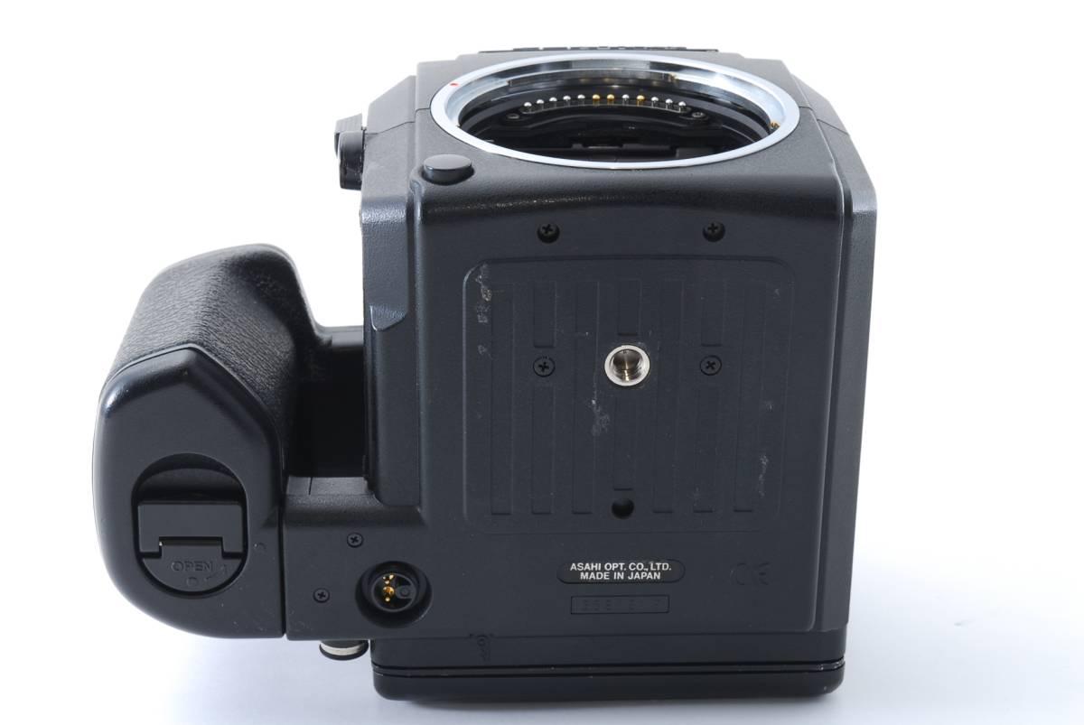 1円スタート!!!!! ペンタックス Pentax 645 Nii Medium Format Camera body ボディ 動作良好、モルト交換済☆_画像9