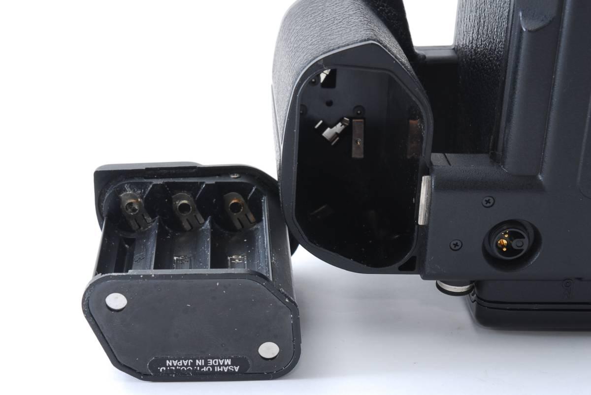 1円スタート!!!!! ペンタックス Pentax 645 Nii Medium Format Camera body ボディ 動作良好、モルト交換済☆_画像10