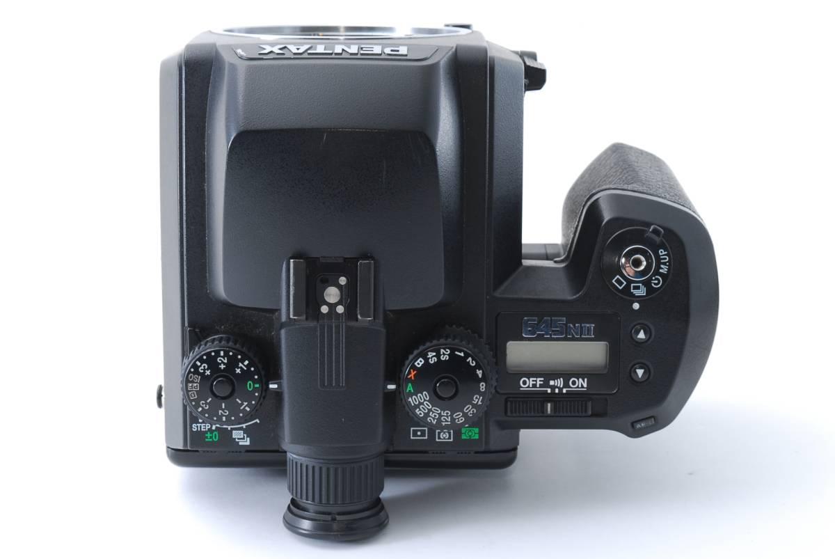 1円スタート!!!!! ペンタックス Pentax 645 Nii Medium Format Camera body ボディ 動作良好、モルト交換済☆_画像8