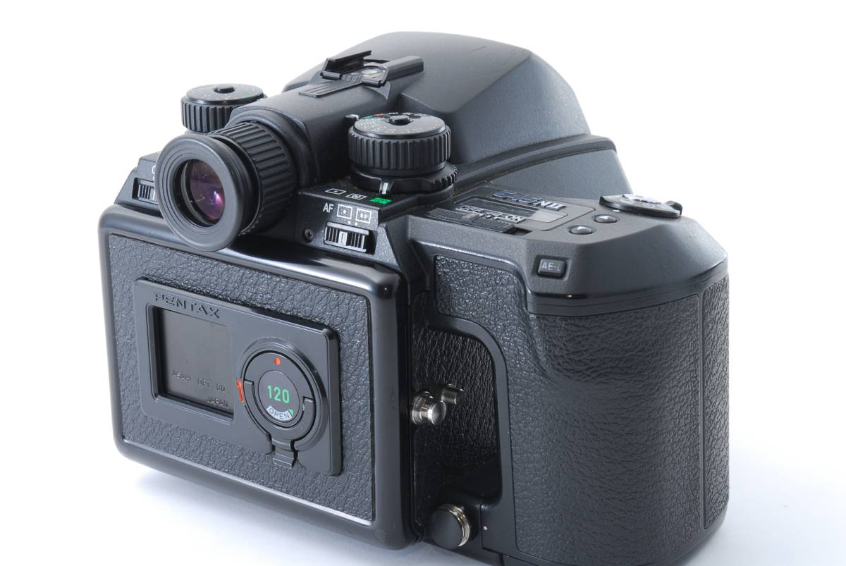 1円スタート!!!! ペンタックス 645 Nii Medium Format Camera body 動作良好、外観綺麗、美品☆_画像4