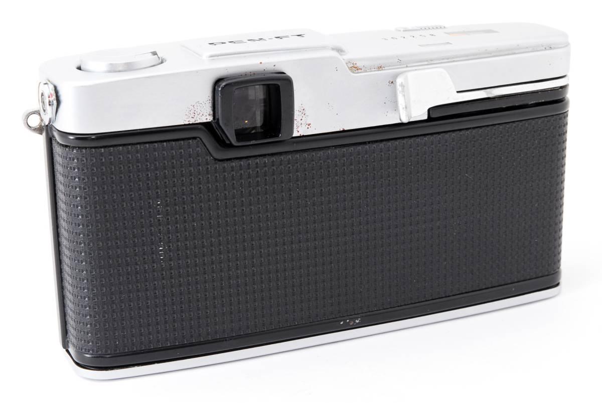 1円スタート レンズとボディのセット オリンパス PEN-FE Olympus Pen-FE レンズ F.Zuiko Auto-S 38mm F1.8 動作良好、モルト交換済☆_画像9
