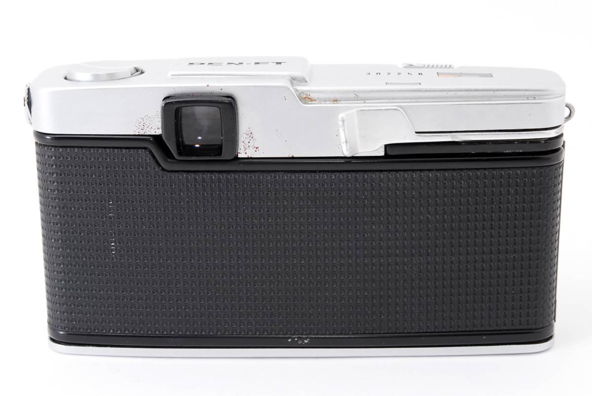 1円スタート レンズとボディのセット オリンパス PEN-FE Olympus Pen-FE レンズ F.Zuiko Auto-S 38mm F1.8 動作良好、モルト交換済☆_画像8