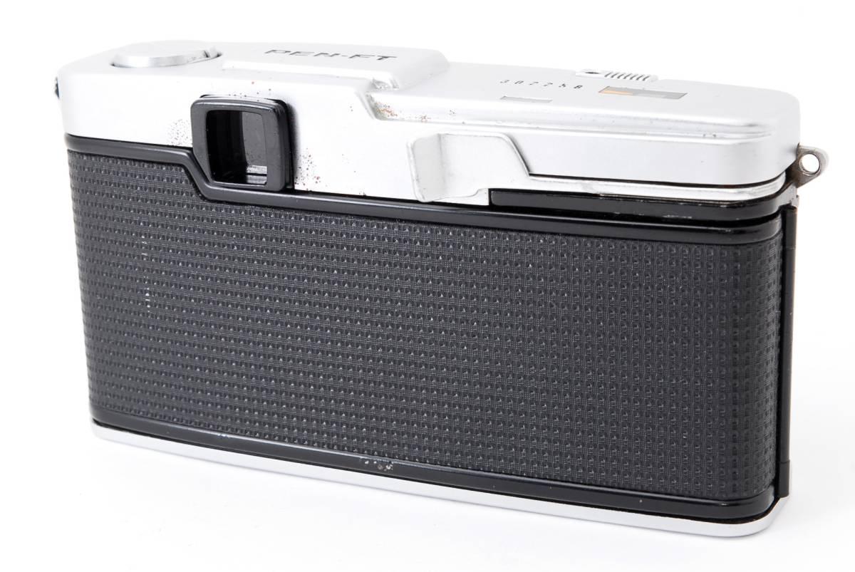 1円スタート レンズとボディのセット オリンパス PEN-FE Olympus Pen-FE レンズ F.Zuiko Auto-S 38mm F1.8 動作良好、モルト交換済☆_画像7