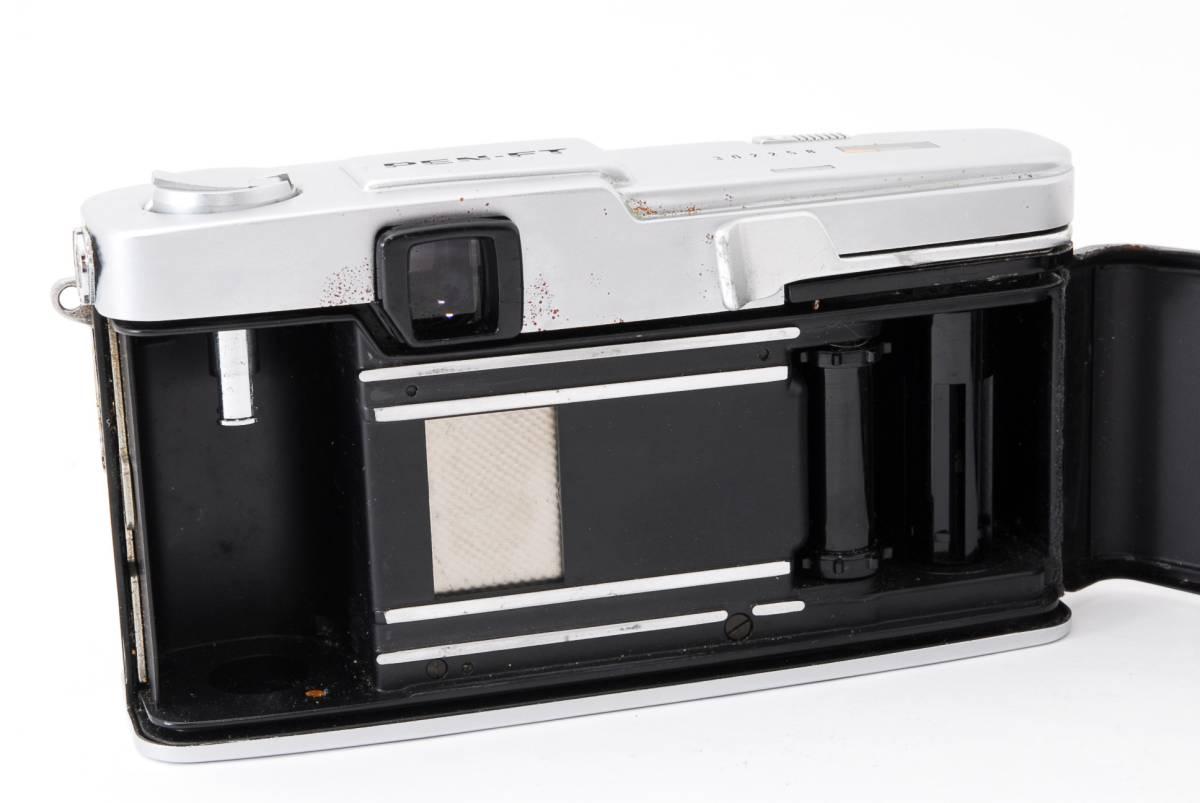 1円スタート レンズとボディのセット オリンパス PEN-FE Olympus Pen-FE レンズ F.Zuiko Auto-S 38mm F1.8 動作良好、モルト交換済☆_画像10